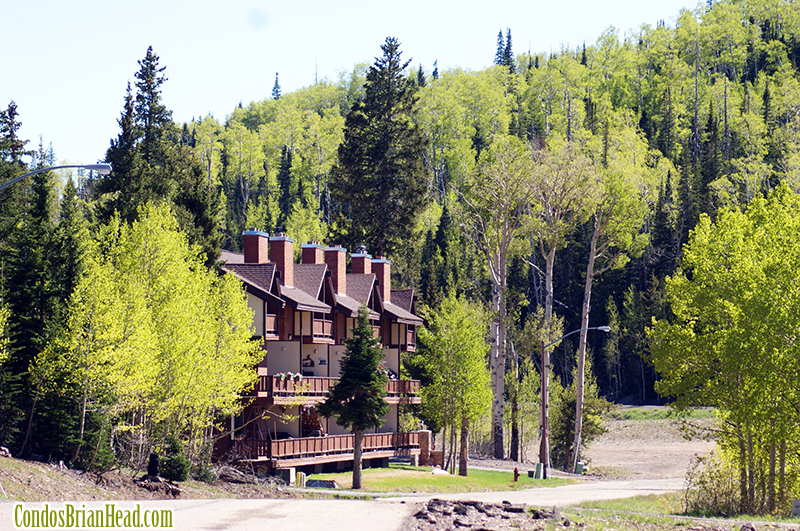 The Evergreens Condominiums in Brian Head, Utah